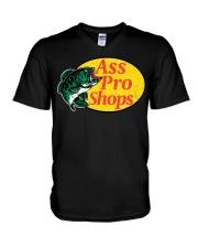 Ass Pro Shop Parody Funny Sarcastic Hilariou V-Neck T-Shirt thumbnail