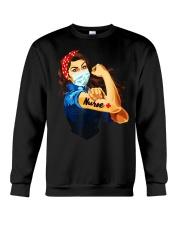Strong nurse rosie riveter T-Shirt Crewneck Sweatshirt thumbnail