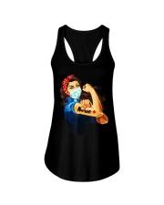 Strong nurse rosie riveter T-Shirt Ladies Flowy Tank thumbnail
