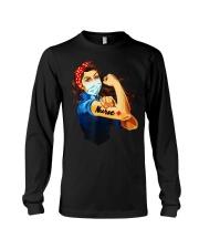 Strong nurse rosie riveter T-Shirt Long Sleeve Tee thumbnail