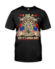 I Am A Grumpy Old Man I Can Fix Stupid But It's Premium Fit Mens Tee tile