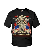 I Am A Grumpy Old Man I Can Fix Stupid But It's Youth T-Shirt thumbnail