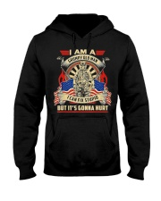 I Am A Grumpy Old Man I Can Fix Stupid But It's Hooded Sweatshirt front