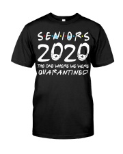 Class Of 2020 Graduation Senior Funny Classic T-Shirt tile