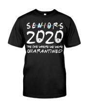 Class Of 2020 Graduation Senior Funny Premium Fit Mens Tee thumbnail