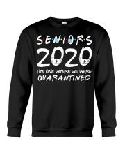 Class Of 2020 Graduation Senior Funny Crewneck Sweatshirt thumbnail