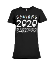 Class Of 2020 Graduation Senior Funny Premium Fit Ladies Tee thumbnail