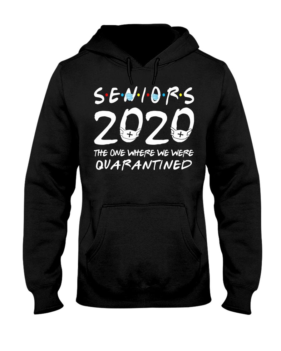Class Of 2020 Graduation Senior Funny Hooded Sweatshirt