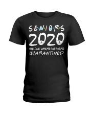 Class Of 2020 Graduation Senior Funny Ladies T-Shirt thumbnail