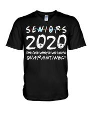 Class Of 2020 Graduation Senior Funny V-Neck T-Shirt thumbnail