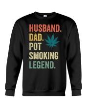 Weed Dad Shirt Stoner Gifts Husband T-Shirt  Crewneck Sweatshirt thumbnail