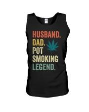 Weed Dad Shirt Stoner Gifts Husband T-Shirt  Unisex Tank thumbnail