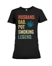 Weed Dad Shirt Stoner Gifts Husband T-Shirt  Premium Fit Ladies Tee thumbnail