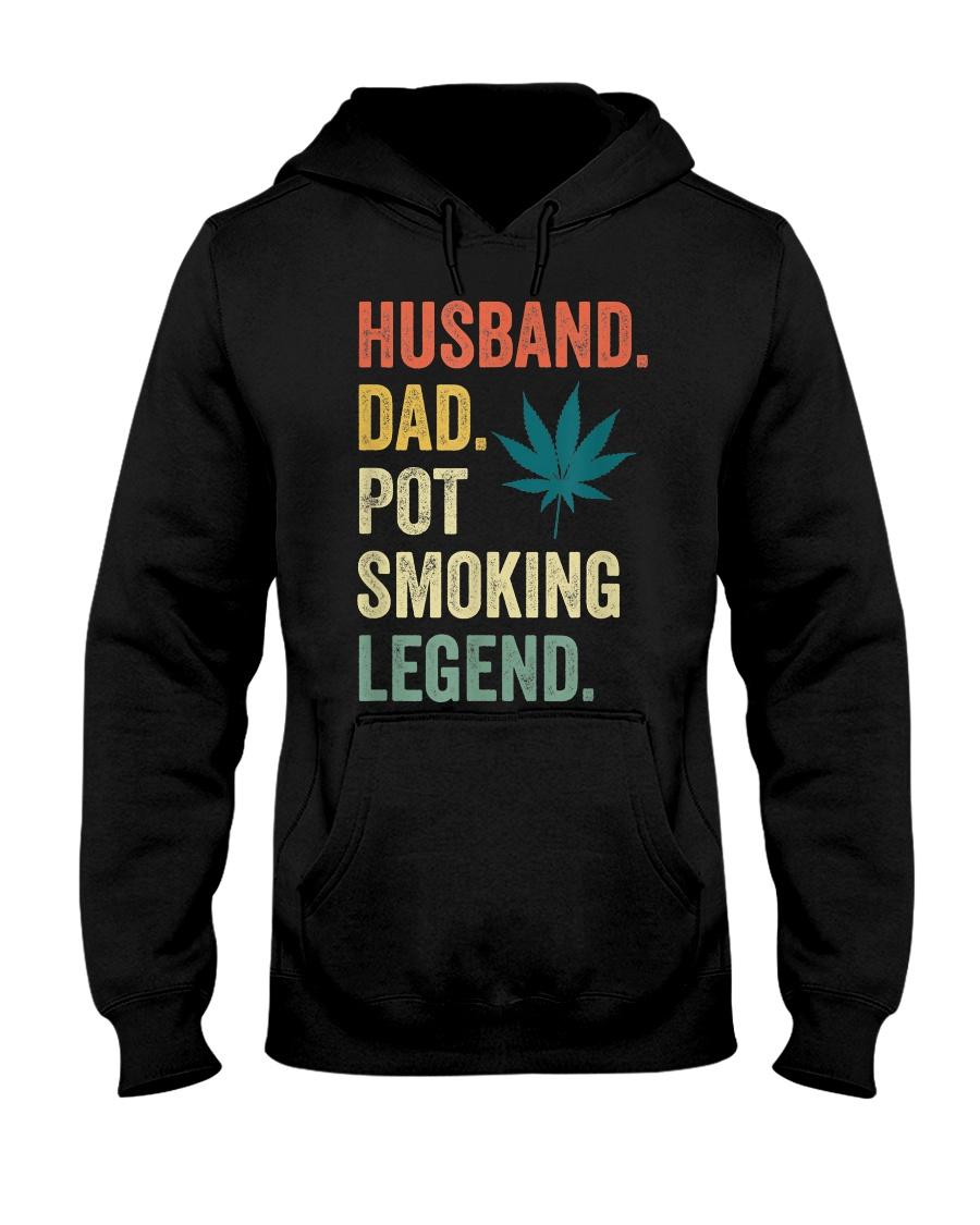 Weed Dad Shirt Stoner Gifts Husband T-Shirt  Hooded Sweatshirt
