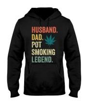 Weed Dad Shirt Stoner Gifts Husband T-Shirt  Hooded Sweatshirt front