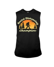 Social Distancing Champion Vintage Sasquatch Sleeveless Tee tile