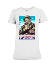 Cuppa Army T-shirt Official Premium Fit Ladies Tee thumbnail