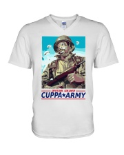 Cuppa Army T-shirt Official V-Neck T-Shirt tile