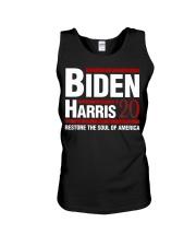 Biden Harris 2020 Restore The Soul of America Unisex Tank thumbnail