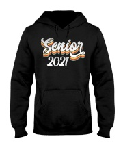 Senior Class Of 2021 Shirt Graduation Gift School Hooded Sweatshirt thumbnail