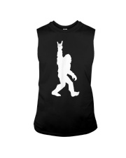 Bigfoot Rock and Roll Tshirt for Sasquatch Sleeveless Tee thumbnail