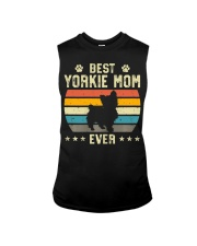 Womens Best Yorkie Mom Ever Funny Puppy Yorkie Sleeveless Tee thumbnail