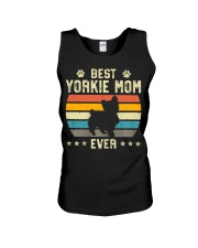 Womens Best Yorkie Mom Ever Funny Puppy Yorkie Unisex Tank thumbnail