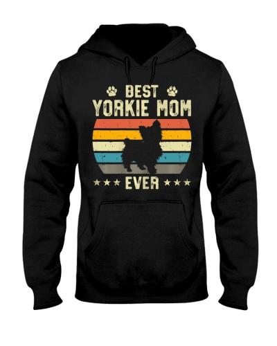 Womens Best Yorkie Mom Ever Funny Puppy Yorkie