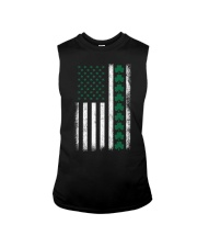 St Patrick's Day IRISH AMERICAN FLAG Vintage Sleeveless Tee thumbnail