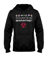 Seniors The One Where They Were Quarantined 2020 Hooded Sweatshirt front