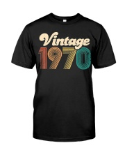 50th Birthday Gift - Vintage 1970 - Retro Bday 50 Classic T-Shirt tile