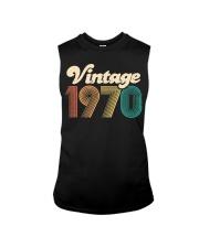 50th Birthday Gift - Vintage 1970 - Retro Bday 50 Sleeveless Tee thumbnail