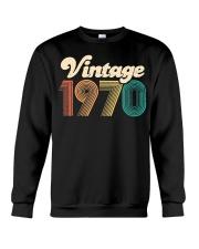50th Birthday Gift - Vintage 1970 - Retro Bday 50 Crewneck Sweatshirt thumbnail