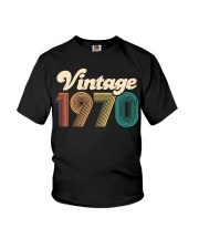 50th Birthday Gift - Vintage 1970 - Retro Bday 50 Youth T-Shirt tile