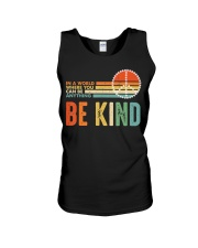 In A World Where You Can Be Anything Be Kind Unisex Tank thumbnail