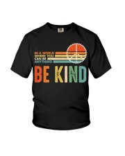 In A World Where You Can Be Anything Be Kind Youth T-Shirt tile