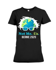 Bernie Sanders 2020 Me Not Us Bernie President Premium Fit Ladies Tee thumbnail