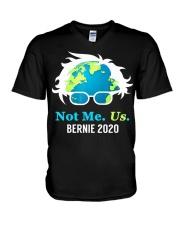 Bernie Sanders 2020 Me Not Us Bernie President V-Neck T-Shirt thumbnail