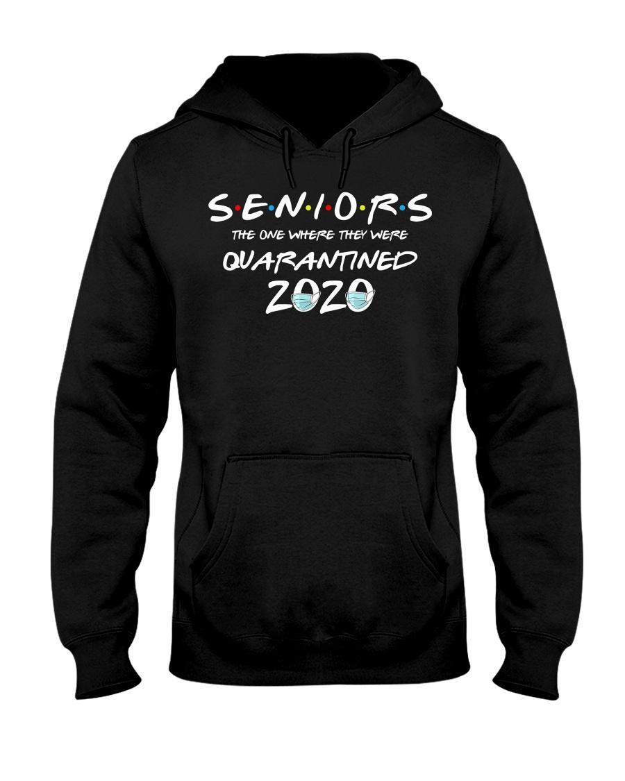 Quarantine Toilet paper Tee Class of 2020 Hooded Sweatshirt