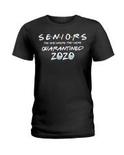 Quarantine Toilet paper Tee Class of 2020 Ladies T-Shirt thumbnail
