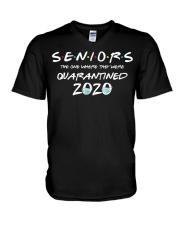 Quarantine Toilet paper Tee Class of 2020 V-Neck T-Shirt thumbnail