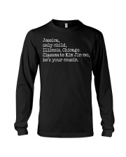 PARASITE Jessica Only Child Illinois Chicago Long Sleeve Tee thumbnail