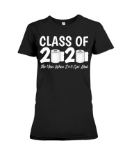 Class of 2020 The Year When Shit Got Real Premium Fit Ladies Tee thumbnail
