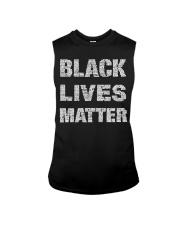 Black Lives Matter Shirt Official Sleeveless Tee thumbnail