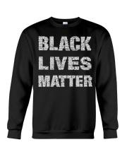Black Lives Matter Shirt Official Crewneck Sweatshirt thumbnail