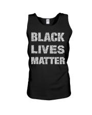 Black Lives Matter Shirt Official Unisex Tank thumbnail