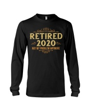 Retired 2020 Retirement Gifts For Men Women Funny Long Sleeve Tee thumbnail