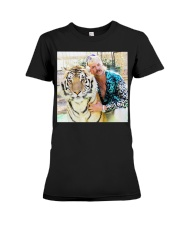 Joe Exotic Tiger King Funny Premium T-Shirt Premium Fit Ladies Tee thumbnail