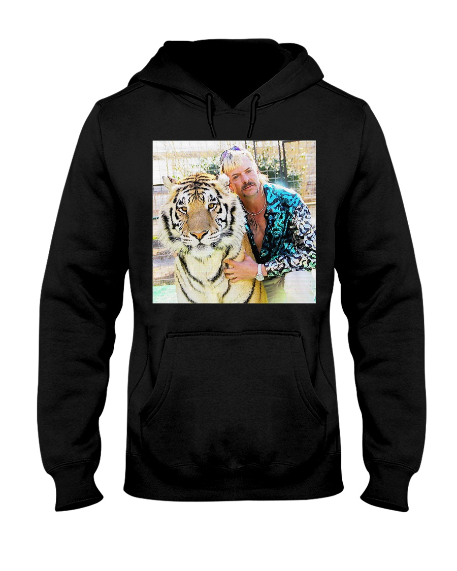 Joe Exotic Tiger King Funny Premium T-Shirt Hooded Sweatshirt