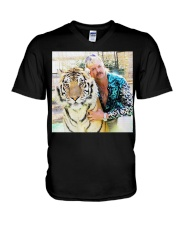 Joe Exotic Tiger King Funny Premium T-Shirt V-Neck T-Shirt thumbnail